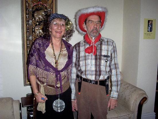 New Guilderoy Hotel Blackpool: Happy New Year from Gypsy and cowboy