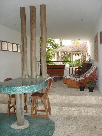 Mi Casa en Cozumel: Lounging area
