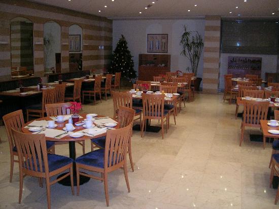 Lancaster Tamar Hotel: Le jardin restauran