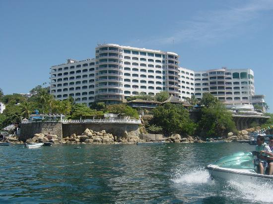Caleta Beach Resort Hotel From The Sea