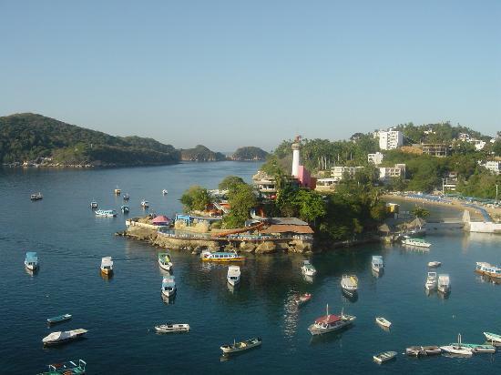 Caleta Beach Resort : view from hotelroom