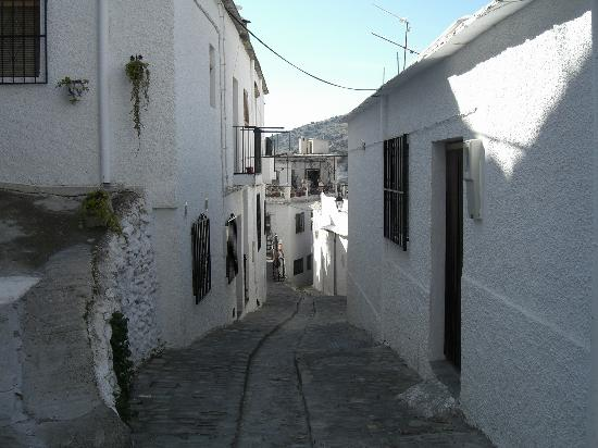 Pampaneira, España: Typical street