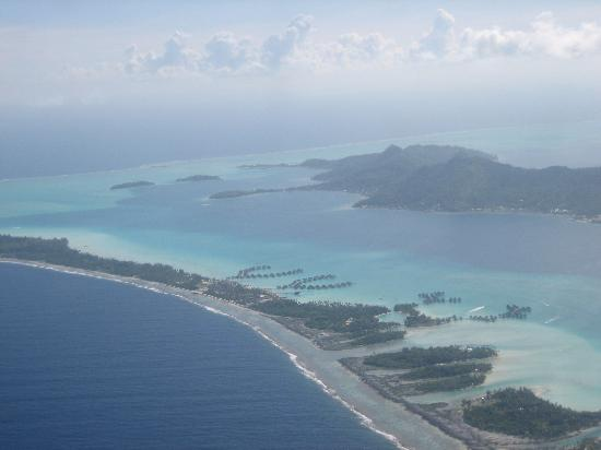 InterContinental Bora Bora Resort & Thalasso Spa: from the air