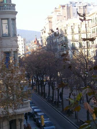 Suite Gaudi Barcelona : The view from the balcony