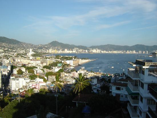 Old Acapulco: view from Etel Suites