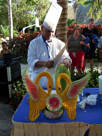 Iberostar Hacienda Dominicus : L'habilité des chefs
