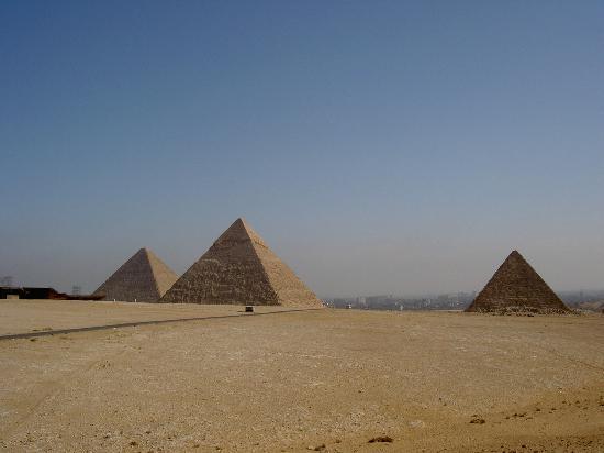 Movenpick Resort Taba Hotel : Pyramids