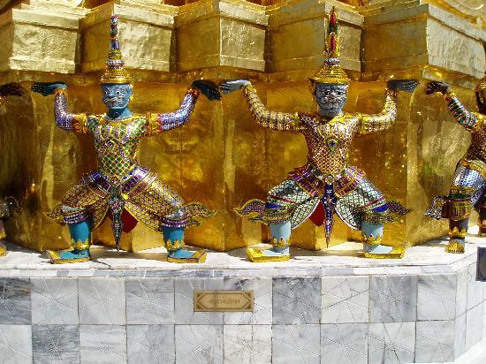 Бангкок, Таиланд: Grand Palace 3