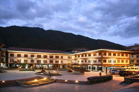 Druk Hotel Thimphu The Front View