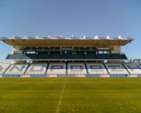 Larnaca, Zypern: Football Stand