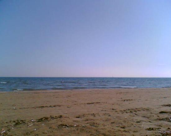 Larnaca, Zypern: The beach