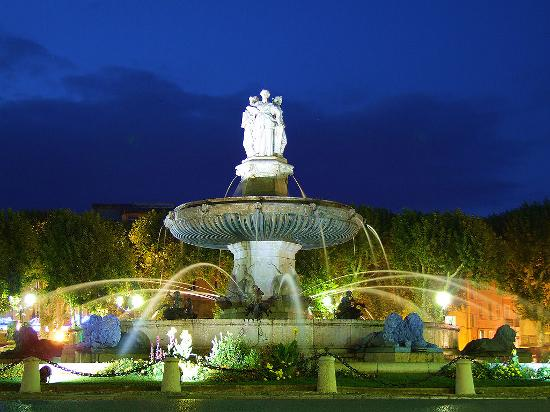 Aix-en-Provence, Frankreich: Summers can be 48 degrees and winters -20. Its always inspiring.