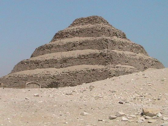 Saqqara-pyramidene