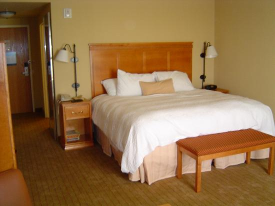 Hampton Inn & Suites Tampa East (Casino Area): Sleeping area