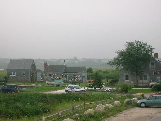 Nantucket, MA: View from Sayles Seafood
