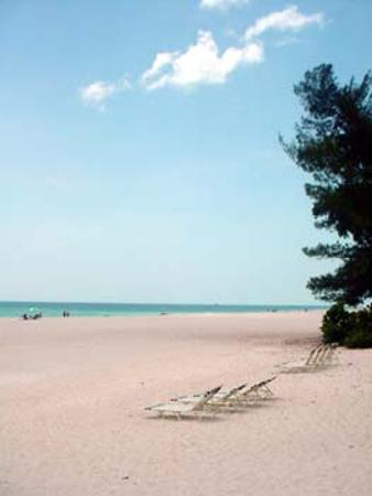 White Sands Beach Resort: Holmes Beach in front of resort
