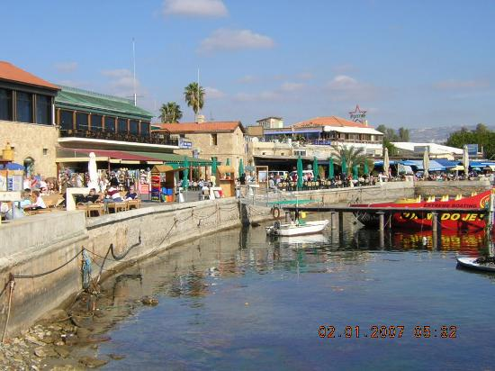 The King Jason Paphos: Paphos harbour