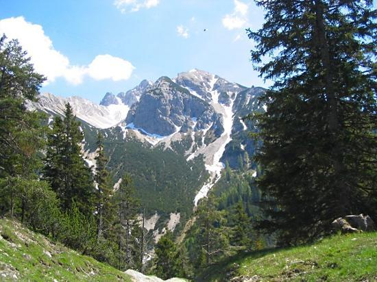 Seefeld in Tirol, Austria: Walk down from Jeefelder Joch
