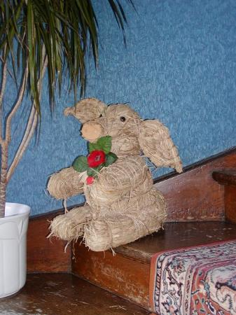 Hotel-Garni Hornburg: A friend going upstairs