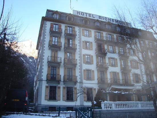 Hotel Richemond from the main street