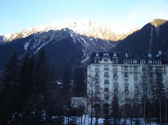 Hotel Richemond : View of Mount Blanc from our room