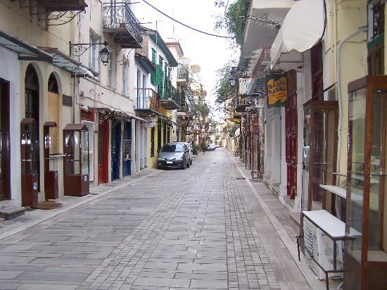Hotel Nafsimedon: Street of Nafplio