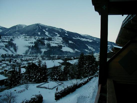 Schladming, Austria: View from the balcony