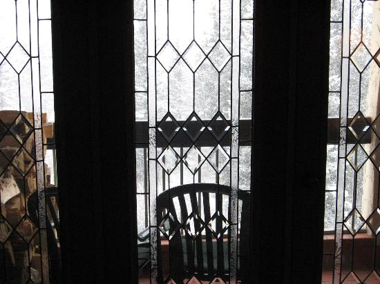 Am From King Bed Leaded Glass Door To Balcony With Great Views