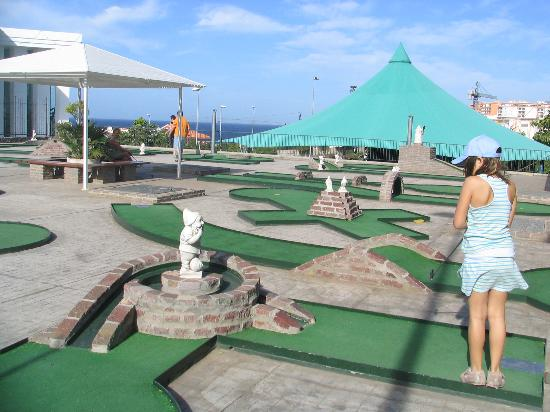 Be Live Experience Playa La Arena: Mini golf