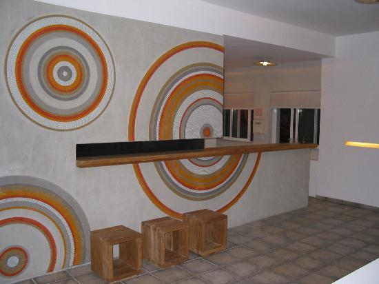 Ammos Hotel: Reception
