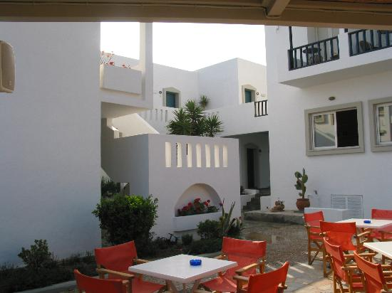 Ammos Hotel: From the bar