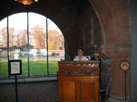 Friendly staff! - Picture of Belhurst Castle, Geneva