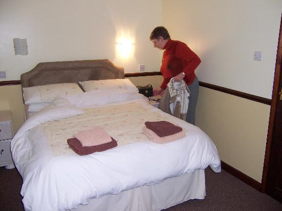Mear Lodge: Just moving into the double room