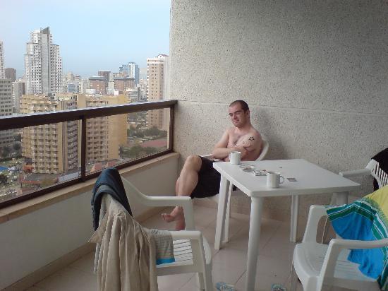Big Balcony Picture Of Paraiso Ten Apartments Benidorm Tripadvisor