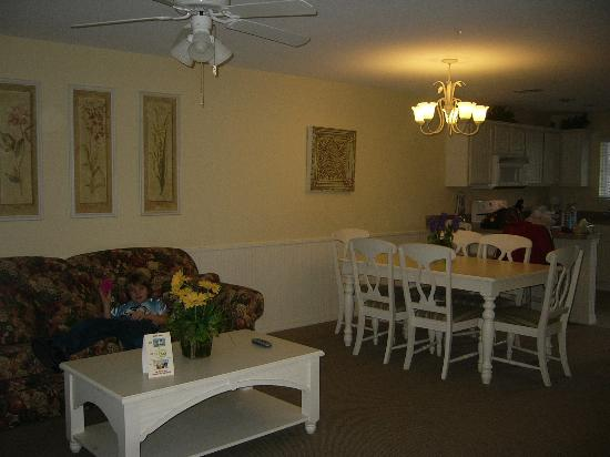 South Lee, MA: dining room and living room