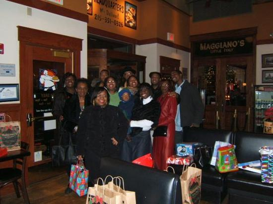 Maggiano's Little Italy : The Williams Family