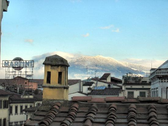 Residenza Giotto: View from rooftop terrace.