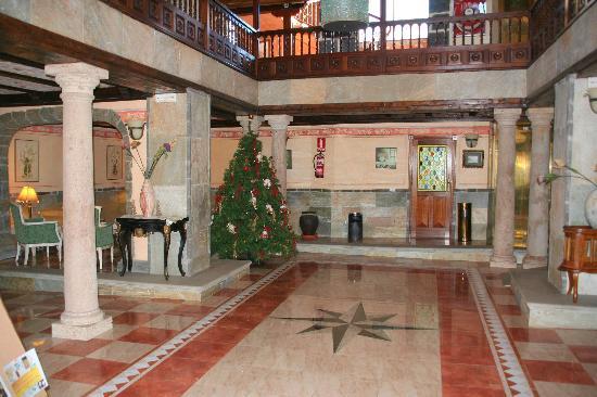 Vilaflor, Spain: Der Eingangsbereich (im neuen Teil des Hauses)