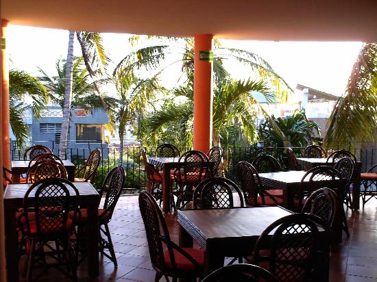 Hotel Casa Rita : breakfast terrace
