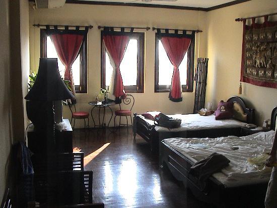 โรงแรมอินเตอร์ ซิตี้ บูติก: Room 406