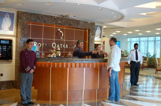 โรงแรมรอยัลกาตาร์: Lobby