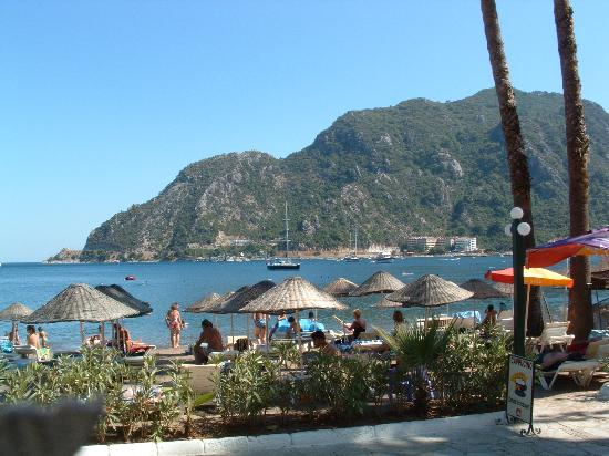 Club Exelsior: icmeler beach - take boat taxi from marmaris marina