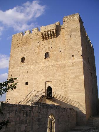 Limassol, Chipre: outside of castle