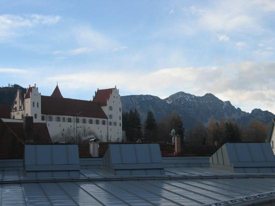 Hotel Sonne: View from room