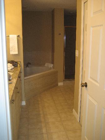 WorldQuest Orlando Resort: master bathroom