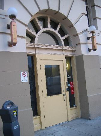 Side Entrance (Milvia Street) - Berkeley YMCA Hotel