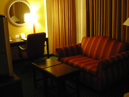 SpringHill Suites Memphis Downtown: Living Room area
