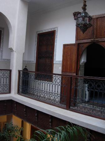 Riad le Clos des Arts: Balcony of the 1st floor