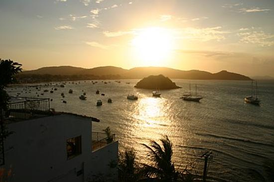 Casas Brancas Boutique Hotel & Spa: View from the Deluxe suite at sunset