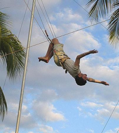 Club Med Ixtapa Pacific : Flying Trapese